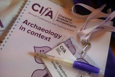 CIfA Conference 2016