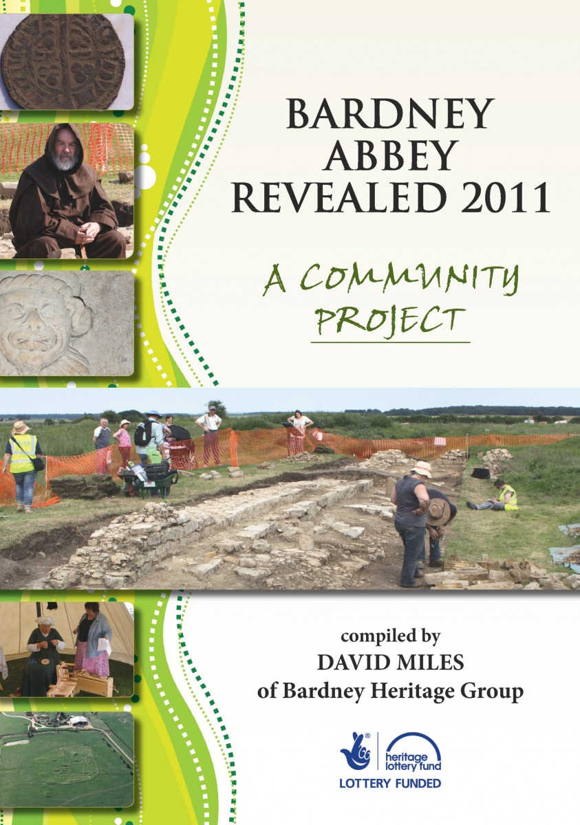 Booklet cover Bardney Abbey